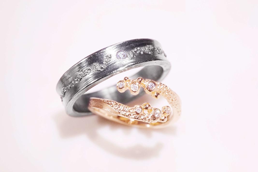客製化婚戒對戒|訂製鑽戒對戒|Chia Jewelry婚戒對戒設計品牌
